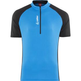 Löffler Rocky Bike Jersey Shortsleeve Men blue/black